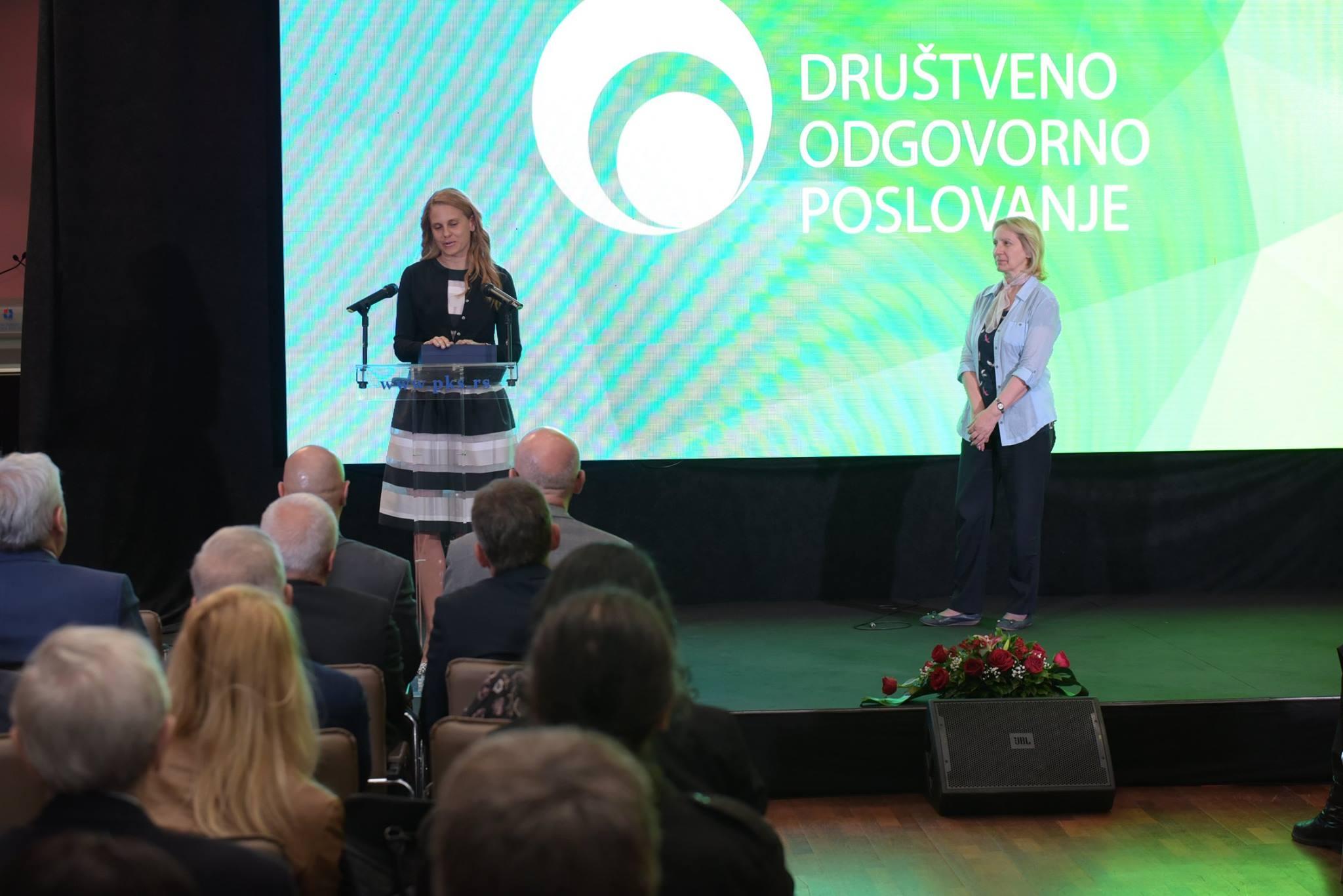 Marija CSR nagrada PKS 3