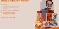 Banca Intesa JUNIOR PROGRAM