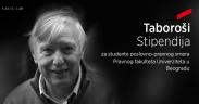 Gecić Law Taboroši stipendija