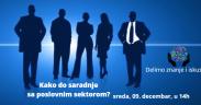 Kako do saradnje sa poslovnim sektorom