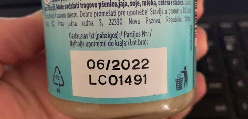 Povučen proizvod sa našeg tržišta zbog pesticida