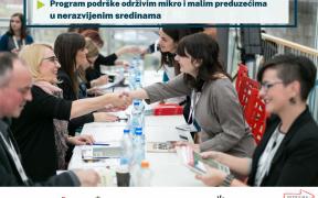 Program podrške održivim mikro i malim preduzećima u nerazvijenim sredinama